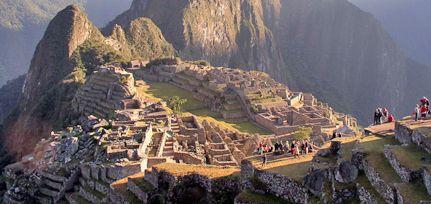El glamour llegó a Machu Pichu