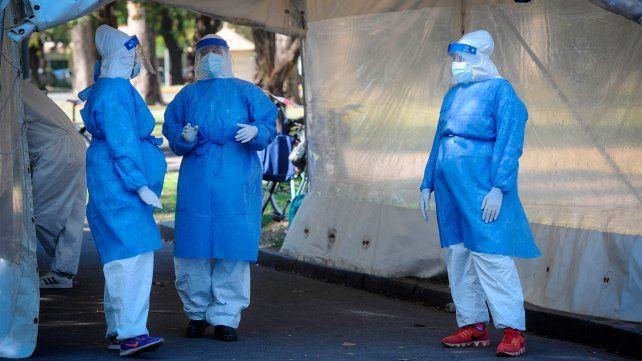 Coronavirus: nueve de los 16 fallecidos en la provincia son de Rosario