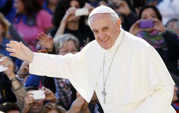 Una fiesta. El Papa