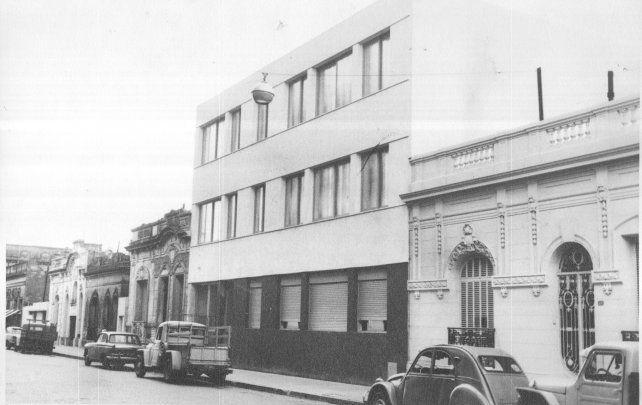 La UTN en su sede definitiva de calle Zeballos 1341.