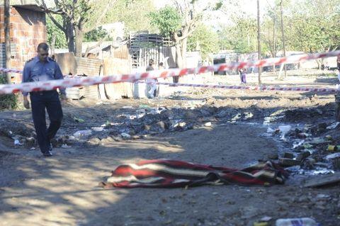 La esquina de French y Formosa fue el escenario de un nuevo homicidio en Rosario. (Foto: S.Toriggino)