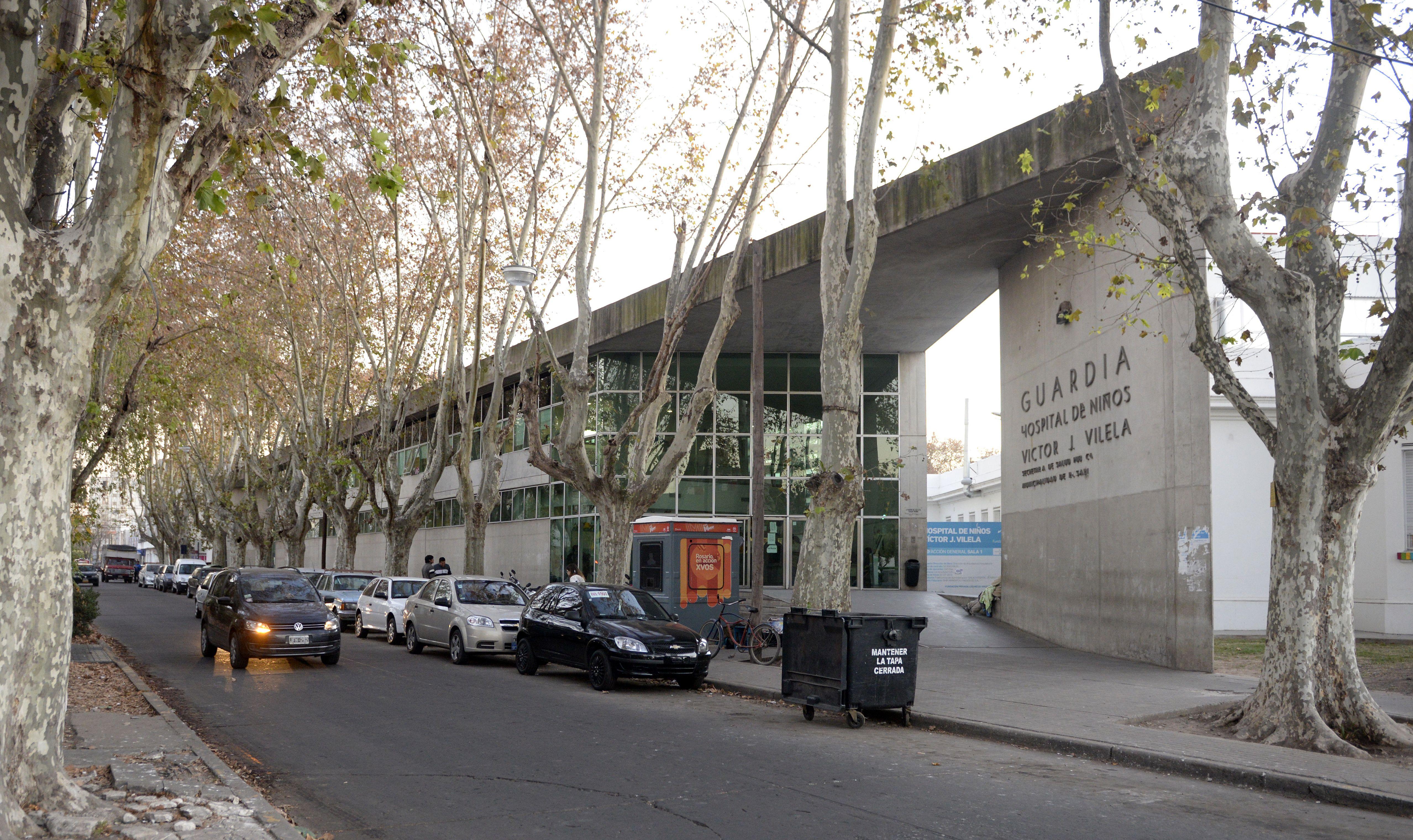 El chico permanece internado en el Hospital de Niños Víctor J. Vilela