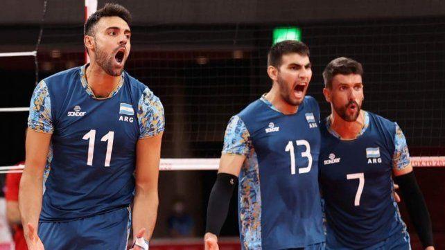 Otro desafío. Argentina terminó en el tercer puesto del grupo B y el sorteo determinó que el rival sea Italia