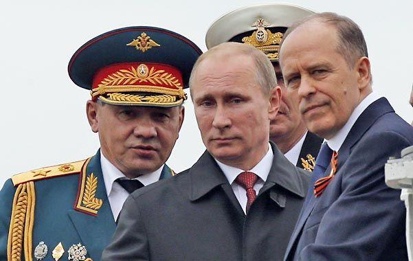 Militarismo. Putin