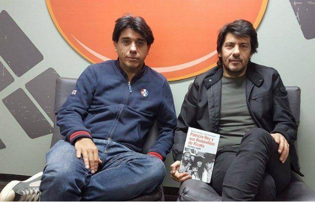 Los autores Mariano del Mazo y Pablo Perantuono