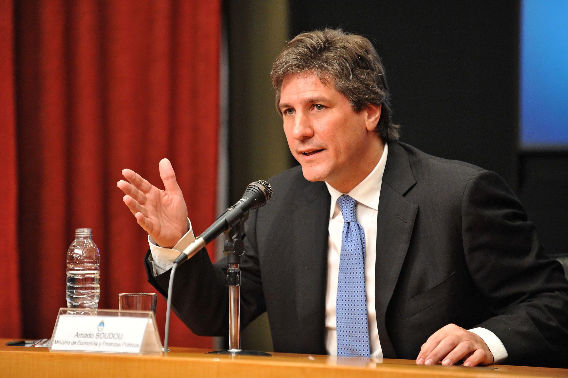 El vicepresidente Amado Boudou dijo que confía en que la Justicia va desentrañar que sucedió con el deceso de Alberto Nisman.