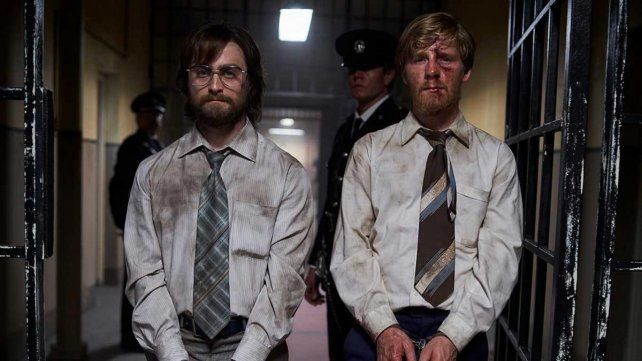 Daniel Ratcliffe y Daniel Webber son los protagonistas de Fuga de Pretoria que se estrena este lunes en TNT sin pasar por los cines.