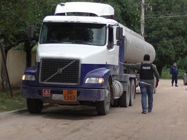 En mayo del año pasado fue detectado uno de los camiones.