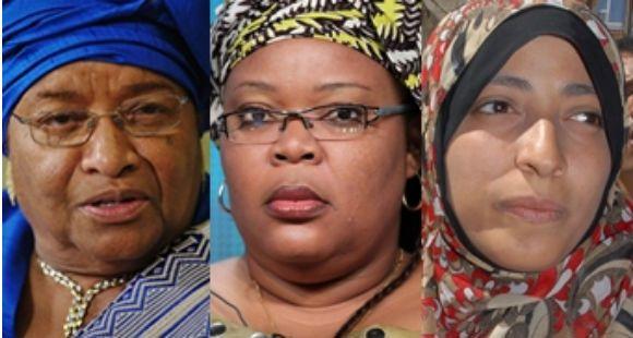 Nobel de la Paz para tres luchadoras de los derechos de las mujeres