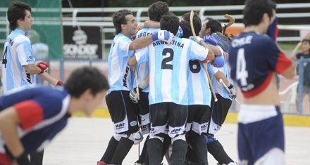 Panamericano de patín: Argentina ganó el oro en roller hockey