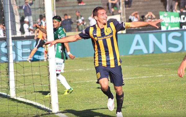 El delantero canalla fue la gran figura del último torneo de primera división.