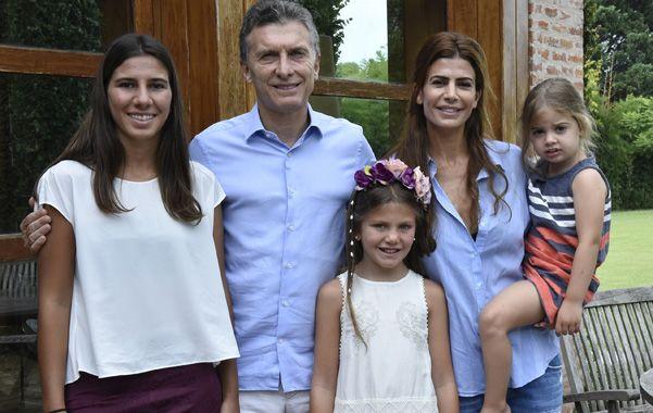 Ambiente familiar. Macri