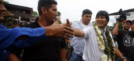 Elecciones en Bolivia: aplastante victoria de Evo Morales según los boca de urna