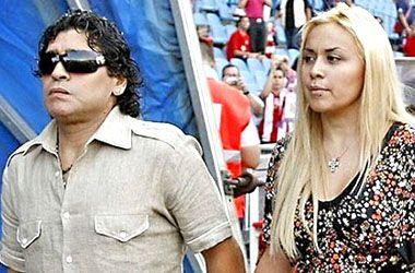 Aseguran que la novia de Diego Maradona perdió su embarazo