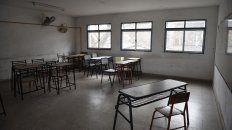Las aulas de toda la provincia están vacías desde mediados de marzo.