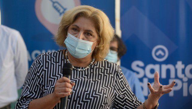 La ministra de Salud de Santa Fe