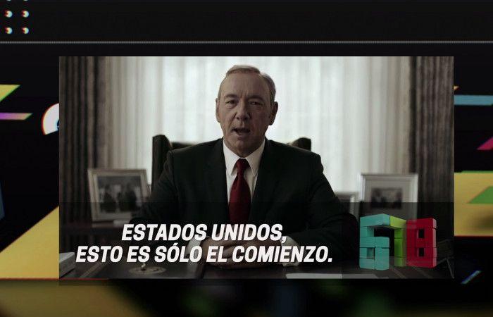 House of Cards hizo una parodia de 678 y embistió contra el presidente