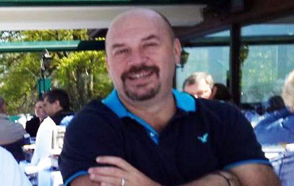 Buscado. Diego Sarjanovic tiene 44 años
