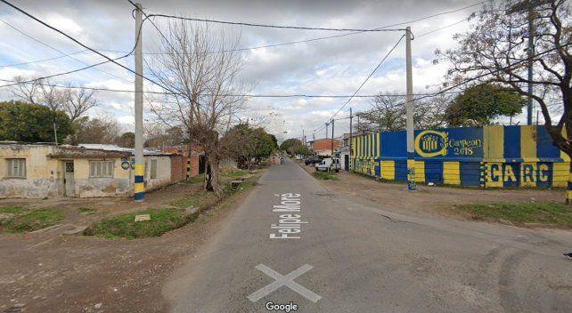 La casa que usurparon a la víctima está en Felipe Moré al 100 bis.