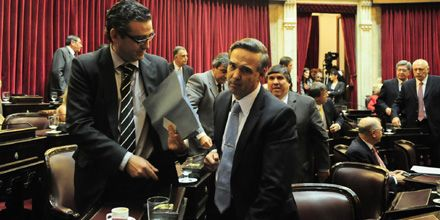 El kirchnerismo se retiró del recinto y se frustró la sesión en el Senado