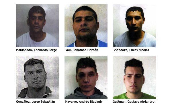 Difundieron las identidades de los presos que huyeron de la comisaría 15ª