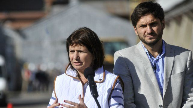 Bullrich y Pullaro se cruzaron por el tema de los celulares de Guille Cantero.