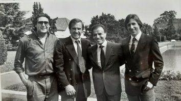 Residencia presidencial de Olivos. Jueves 5 de setiembre de 1991, tres días antes del domingo que Carlos Reutemann le ganó las elecciones a Horacio Usandizaga.