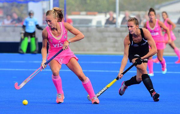 Las Leonas se medían en los cuartos de final de la Hawke's Bay Cup