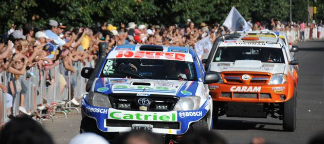 El Rally Dakar pasó por Rosario entre el 31 de diciembre de 2013 y el 5 de enero de este año. (Foto: V. Benedetto)