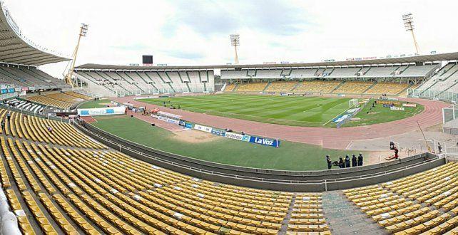 El escenario. El estadio cordobés Mario Alberto Kempes espera la gran definición.