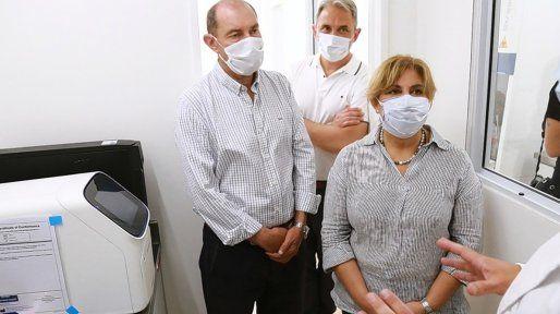 La provincia inauguró el nuevo laboratorio de biología molecular de Granadero Baigorria