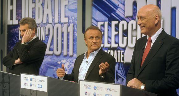 Bonfatti, Rossi y Del Sel se enfrentaron al debatir sobre la obra pública en Santa Fe