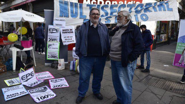La multisectorial contra el tarifazo advierte panorama desalentador por los aumentos