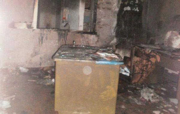 Pérdidas. El fuego quemó documentos de Ansés que beneficiaban a vecinos.