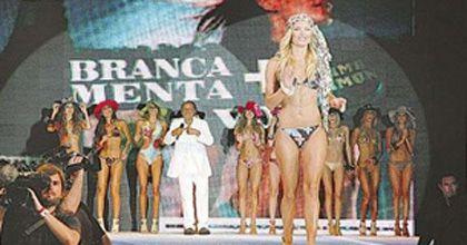 Moviendo las cabezas: las diosas argentinas desfilaron para Giordano en Punta del Este