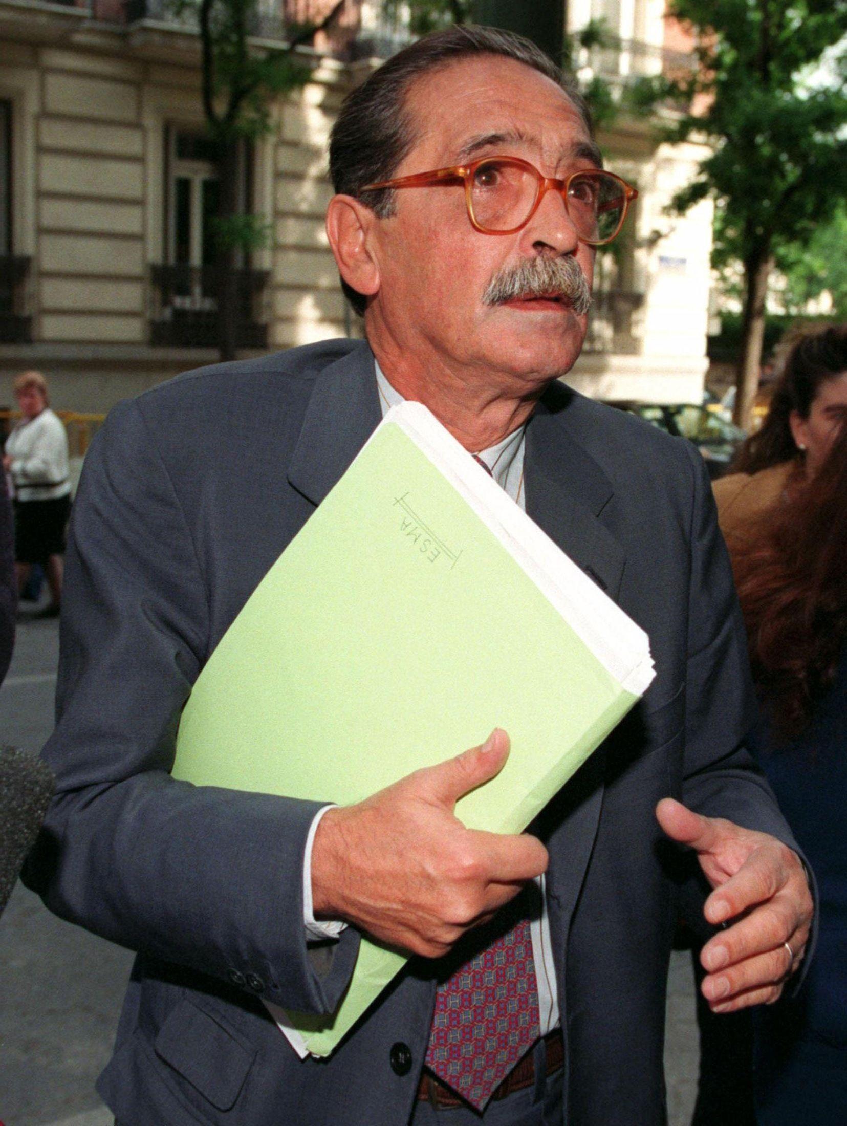 Foto de archivo del ex fiscal Strassera