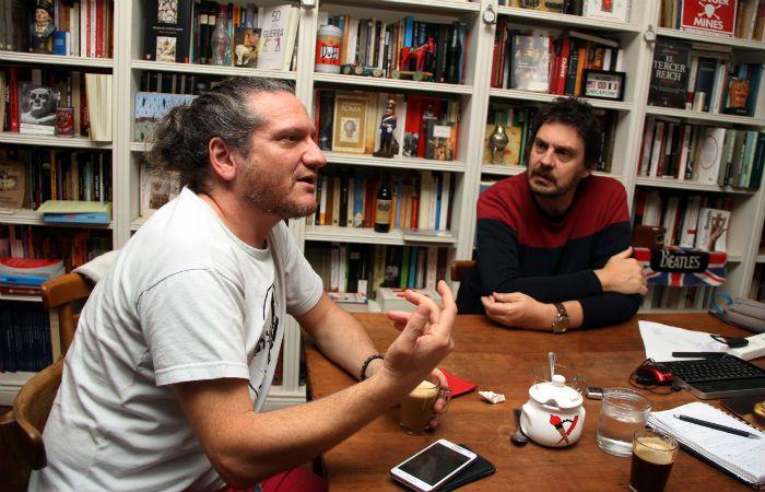 """Divulgación. Darío Sztajnszrajber y Felipe Pigna: """"Filosofía e historia son dos disciplinas que van a la perspectiva de los problemas"""
