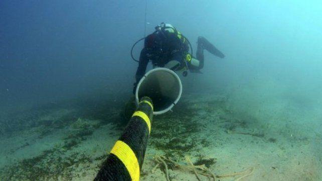 El cable submarino unirá Argentina con Estados Unidos.