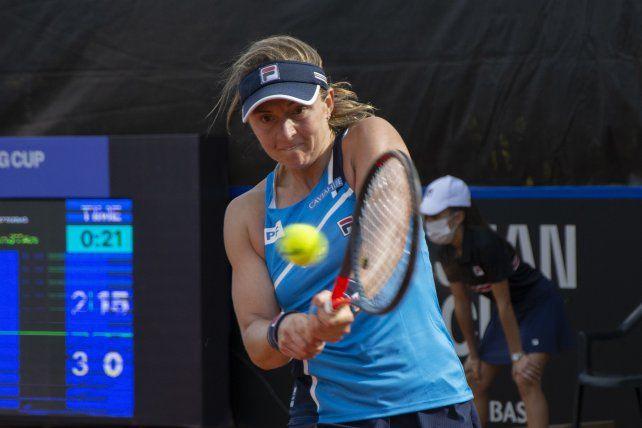 La tenista rosarina Nadia Podoroska se medirá por primera vez en su carrera con Serena Williams.