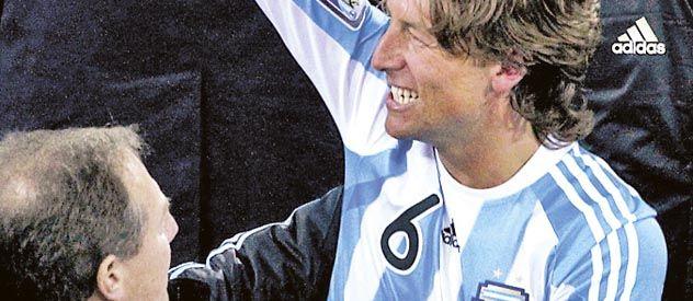De selección. Heinze fue titular en el Mundial de Sudáfrica 2010.