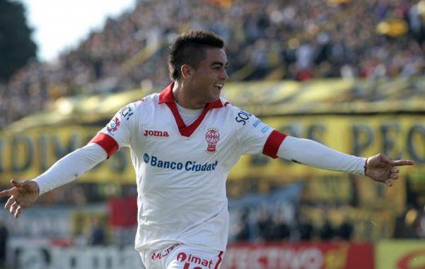 Talento puro. Martínez es una de las figuras clave de Huracán.