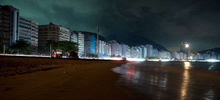 Medio gigante a oscuras: un apagón dejó anoche sin electricidad a millones de brasileños