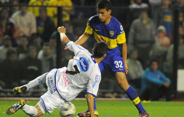 Contra Atlético. Paredes enfrentó al equipo de Rafaela