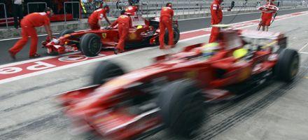 Fórmula Uno: Massa y su Ferrari largan en punta en Turquía