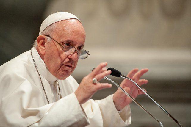 El Papa Francisco reapareció tras sus problemas en el nervio ciático.