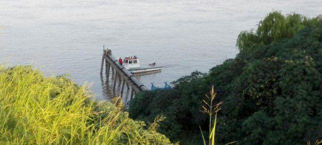 Prefectura busca intensamente a una joven desaparecida en las aguas del río Paraná
