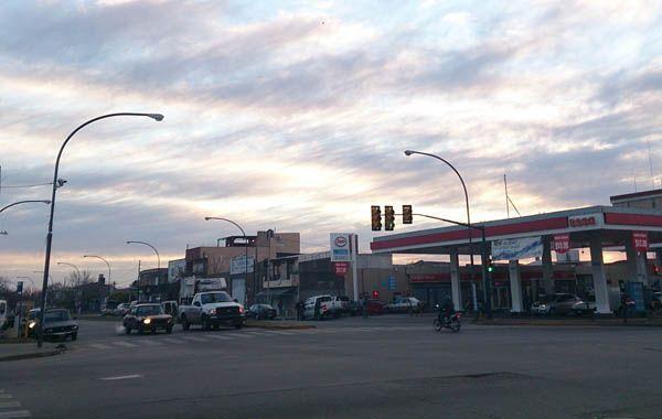 El robo se produjo en la intersección de Seguí y Avellaneda. (Foto: C. Mutti Lovera)