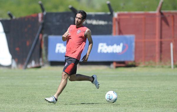 El volante Villalba entró por Mateo en el entrenamiento y es una variante que maneja Berti para enfrentar el domingo  a Arsenal.