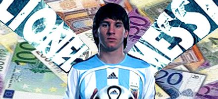 Lionel Messi es el segundo jugador mejor pago del mundo