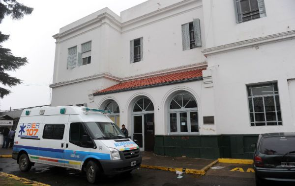 el hospital donde se produjo un tiroteo el pasado fin de semana. (Foto: C. Mutti Lovera)